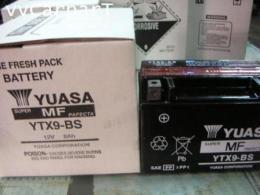 แบตเตอรี่แห้ง ยัวซ่า YTX9-BS