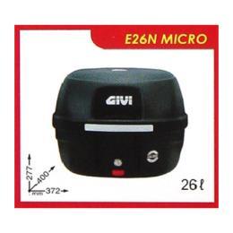 กล่องท้ายรถ GIVI รุ่น E26N MICRO / 26 ลิตร