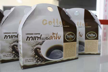 กาแฟผสมน้ำตาลลำไย