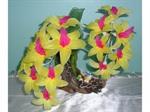 ดอกไม้ผ้าใยบัว ดอกกล้วยไม้