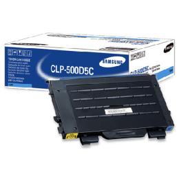 ผงหมึกพริ้นเตอร์ ยี่ห้อ Samsung CLP-500D5C