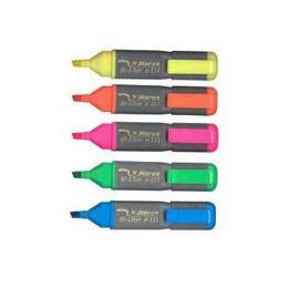 ปากกาเน้นข้อความ ตราม้า สีเหลือง
