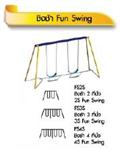 ชิงช้า 4 ที่นั่ง 4S Fun Swing