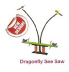 ม้ากระดกแมลงปอ 2 ที่นั่ง Dragonfly