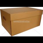 กล่องเอกสารสีน้ำตาล BD0005