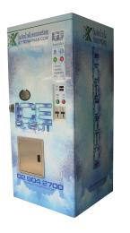 ตู้น้ำแข็งหยอดเหรียญ Ice Robot