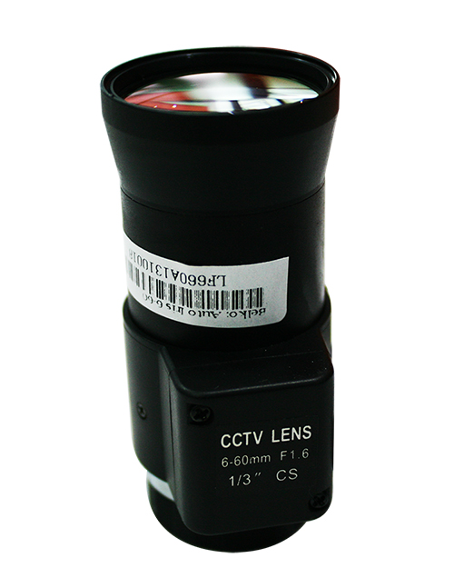 เลนส์กล้อง Auto Iris 6 - 60mm