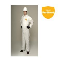 ชุดไทเวคสีขาว  PROSHIELD