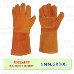 ถุงมือเชื่อมปะฝ่ามือกันความร้อน