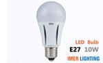 IMER LED หลอดไฟ E27 10W
