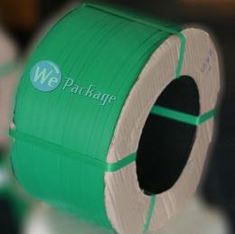 สายรัดพลาสติกสีเขียว