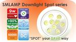 หลอดไฟ LED Downlight 9w AC/DC