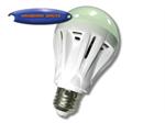 ปิงปองพลาสติกขาว 9w LED (LP010)