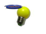 LED หลอดปิงปองพลาสติกเหลือง 1w