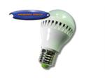LED หลอดปิงปองพลาสติกขาว 5w
