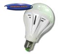 LED หลอดปิงปองพลาสติกขาว 12w
