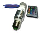 หลอด LED ปลายตัดยาวรีโมท 3w