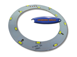 หลอดไฟ LED ชนิดวงแหวน 6w พร้อม Driver