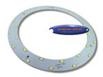 หลอดไฟ LED ชนิดวงแหวน 206mm. 15w