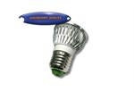 หลอดไฟ LED ฝักบัวขาว 4w