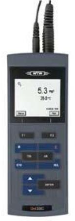 เครื่องวัดปริมาณออกซิเจนที่ละลายในน้ำ แบบพกพา รุ่น Oxi 3205