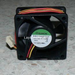 พัดลมติดเคส 6 cm. 12Vdc. ยี่ห้อSUNON