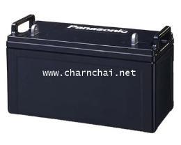แบตเตอรี่แห้ง 12V 100 Ah Panasonic