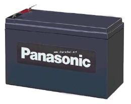 แบตเตอรี่แห้ง 12V 7.2 Ah Panasonic