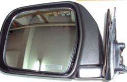 กระจกรถยนต์ T/T NEW-MTX ชุบ/ดำ - LH