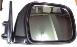 กระจกรถยนต์ T/T NEW-MTX ชุบ/ดำ RH