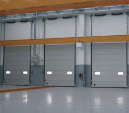 ประตูโรงรถสำหรับอาคารพาณิชย์หรือโรงงาน