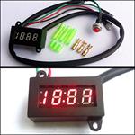 นาฬิกาดิจิตอล LED ติดมอเตอร์ไซต์ (406)