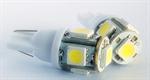 ไฟ LED (T10 5 LED (คู่))