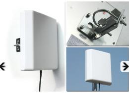เสา Wireless Outdoor Panel 14 dBI 2.4GHZ