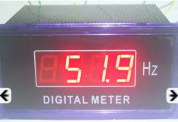 มิเตอร์วัดความถี่แบบดิจิตอล รุ่น SX48 0