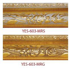 คิ้วกรอบรูป ไม้พลาสติก รุ่น YES-603