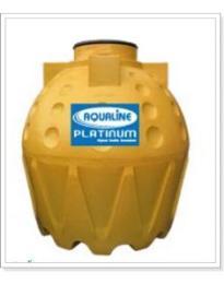 ถังน้ำอาควาไลน์ (Aqauline) รุ่นคุณภาพสูงสุด (Platinum)