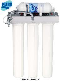 เครื่องกรองน้ำดื่ม Pure รุ่น 586 UV