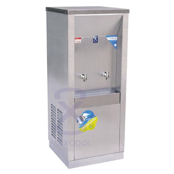 ตู้ทำน้ำเย็น แบบต่อท่อ 2 ก๊อก รุ่น MC-2PW
