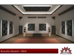 จำหน่าย Acoustics Board แผ่นอะคูสติก ดูดซับเสียงดี ดีไซน์โดดเด่น ราคากันเอง