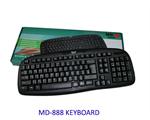 USB Keyboard 103 keys ยี่ห้อ MD-Tech