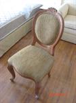 เก้าอี้คลาสสิค (มีดอกไม้)