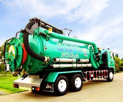 รถดูดสิ่งโสโครกและฉีดล้างท่อระบายน้ำ Vactor I-12000