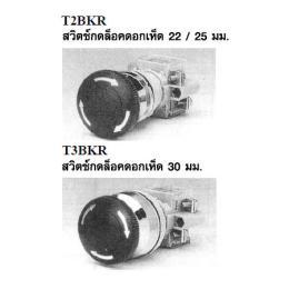 สวิตซ์กดจม T2BKR/T3BKR