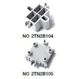 ฐานเสริมสำหรับคอนแทคบล็อค 2TN2B104/2TN2B105