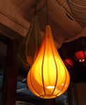 โคมไฟโครงเหล็ก shade ผ้า LF-003