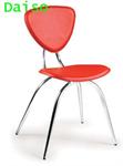 เก้าอี้เหล็กรุ่นใหม่ชุบโครเมี่ยม DPV-003