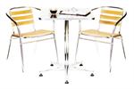 เก้าอี้อลูมิเนียม T-65/ชุดโต๊ะเก้าอี้อลูมิเนียม