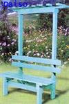 เก้าอี้สนามมีซุ้ม 2 ที่นั่ง KDS-4