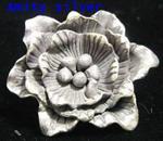 จี้เงินรูปดอกไม้, PD-Chm-FL-5002